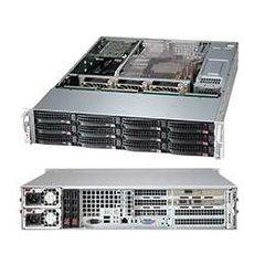 826BA-R900WB 2U WIO,12sATA/SAS(3×SFF-8087)+2SFF,noCD,rPS(80+PLATINUM), černé