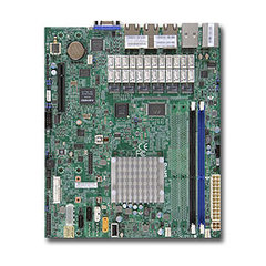 A1SRM-LN7F-2358 µATX Rangeley C2358(1,7GHz,7W,2c,QuickAssist),PCI-E4vE8,7GbE,4DDR3-1600,6sATA,IPMI