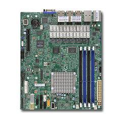 A1SRM-LN7F-2758 µATX Rangeley C2758(2,4GHz,20W,8c,QuickAssist),PCI-E4vE8,7GbE,4DDR3-1600,6sATA,IPMI