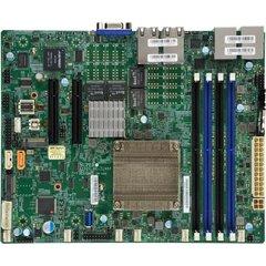 A2SDV ATX Atom C3958 (QAT, 31W, 16c@2GHz, pas.), PCI-E8,4×10GbE-T,GbE,4DDR4-2400,M.2,2sATA, IPMI~