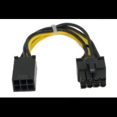 Akasa napájeci redukce PCIe z 6pin na 8pin konektor