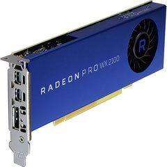 AMD Radeon Pro WX 2100 2GB GDDR5 1-DP 2-mDP PCIe 3.0, GPU-AMDRWX2100 -100-506001