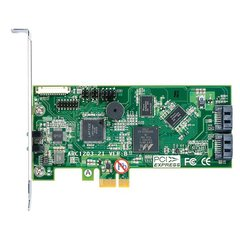 ARECA 2port 6Gb/s SATA PCIe 2.0 x1, RAID Card, 512MB Cache, 2x interní SATA - ARC-1203-2I