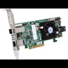ARECA 8 Ports (Int/Ext) (SFF-8643,SFF-8644) 12Gb/S SAS/SATA RAID Adapter, 2GB DDR3, PCI-E x8, LP