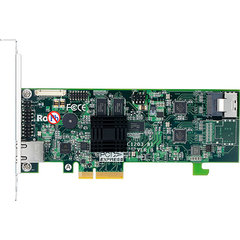 Areca ARC-1203-4i SATA3 RAID (0/1/5/6/10/50/60) 1×8087, 512MB, PCI-E4 g2, LP