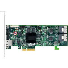 Areca ARC-1203-8i SATA3 RAID (0/1/5/6/10/50/60) 2×8087, 512MB, PCI-E4 g2, LP