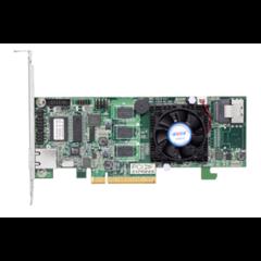 Areca ARC-1216-4I (LSI3108) SAS3 RAID (0/1/5/6/10/50/60) 1×8643, 1GB, PCI-E8 g3, LP
