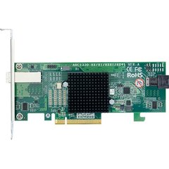 Areca ARC-1330-4I4X PCIe 3.0 x8 SAS Adapter, 8x 12Gb/s 1x int. (SFF-8643) & 1x ext. (SFF-8644)