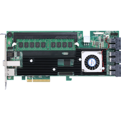 Areca ARC-1883IX-24-8GB (LSI3108) SAS3 RAID (0/1/5/6/10/50/60) 6×8643,1×8644 exp 128, 8GB, PCI-E8g3