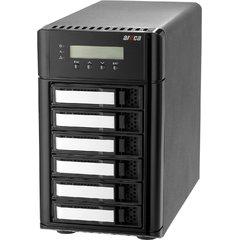 Areca ARC-8050U3-6 Desktop RAID, 6x 12Gb/s SAS HDD's, 1x USB 3.1 Gen 2 Typ-C,SAS Exp.,180W PSU