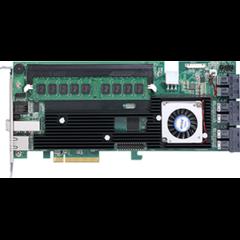 Areca1883ix-24 (LSI3108) SAS3RAID(0/1/5/6/10/50/60) 6×8643,1×8644,exp:128,8GB,PCI-E8g3