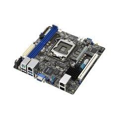 ASUS P10S-I, 1151, C232, 4x DDR4 2133 UDIMM, 2 x Intel® I210AT + 1 x Mgmt LAN, Mini ITX