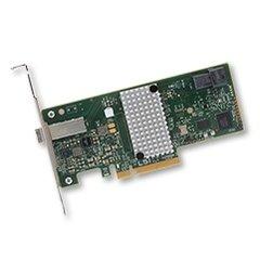 Broadcom LSI HBA SAS 9300-4i4e 1x int SFF-8643 & 1x ext SFF-8644, PCIe 3.0 x8 - H5-25515-00