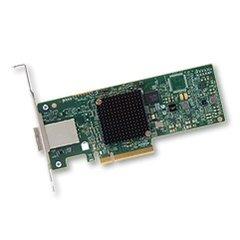 Broadcom LSI HBA SAS 9300-8e 8x 12Gb/s miniSAS port ext. (2x SFF-8644), PCIe 3.0 x8 - H5-25460-00