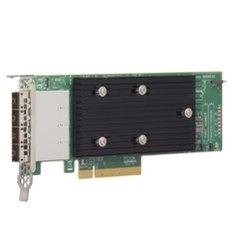 Broadcom LSI HBA SAS 9305-16e 16x 12Gb/s miniSAS ext. (4x SFF-8644), LP, PCIe 3.0 x8 - 05-25704-00