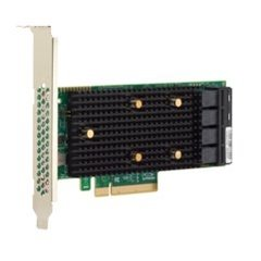 Broadcom LSI HBA Tri-Mode 9400-16i 16x SAS/SATA / 4x NVMe (4x SFF-8643), PCIe 3.1 x8 - 05-50008-00