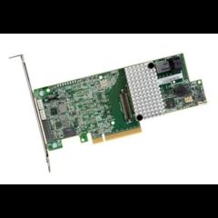 Broadcom LSI MegaRAID SAS 9361-4i 4x 12Gb/s SAS (1x int. SFF-8643) PCIe 3.0 x8, 1024MB - 05-25420-10
