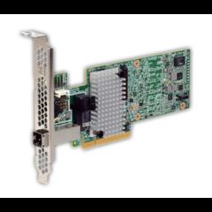 Broadcom LSI MegaRAID SAS 9380-4i4e 8x 12Gb/s SAS (1x int SFF-8643 & 1x ext SFF-8644) - 05-25190-02