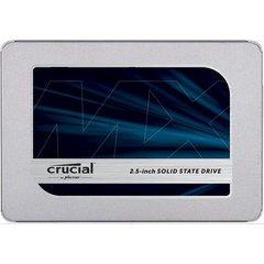 """Crucial MX500 - 500GB, 2.5"""" SSD, TLC, SATA III, 560R/510W - CT500MX500SSD1"""