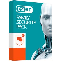 ESET Family Security Pack, 3 stanice, 1 rok