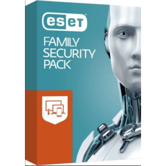 ESET Family Security Pack, 3 stanice, 1 rok - EFSP003N1
