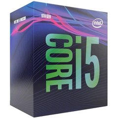 Intel Core i5-9500 @ 3GHz, 6C/6T, 9MB, UHD630, LGA1151, box - BX80684I59500 - BAZAR