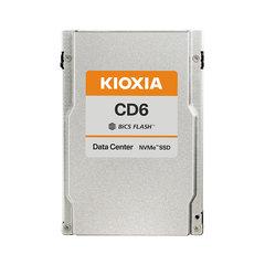 "Kioxia CD6 12.8TB NVMePCIe4x4 2.5""15mm SIE 3DWPD - KCD6XVUL12T8"
