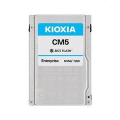 "Kioxia CM5 1.6TB NVMePCIe3x4 BiCS3 2.5""15mm SIE 3DWPD - KCM5XVUG1T60"