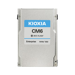 """Kioxia CM6 15.36TB NVMePCIe4x4 2.5""""15mmSIE 1DWPD - KCM6XRUL15T3"""