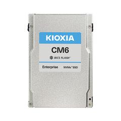"Kioxia CM6 7.68TB NVMePCIe4x4 2.5""15mm SIE 1DWPD - KCM6XRUL7T68"