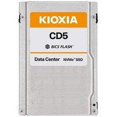 """Kioxia/Toshiba CD5 7.68TB NVMe PCIe 3.1x4 BiCS3 eTLC 2.5""""15mm 0.5DWPD - KCD51LUG7T68"""