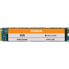 Kioxia XD5 3.84TB, NVMe PCIe 3.0x4,TLC, M.2 22110 <1DWPD SIE - KXD5YLN13T84