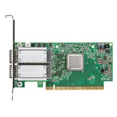 Mellanox ConnectX®-5 EN network interface card, 100GbE dual-port QSFP28, PCIe3.0 x16, tall bracket, ROHS R6