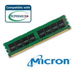 Micron 16GB DDR4-3200 2RX8 LP ECC RDIMM - MTA18ASF2G72PDZ-3G2R1