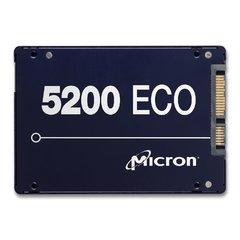 """Micron 5200 ECO 2.5"""", 3.8TB, SATA, 6Gb/s, 3D NAND, 7mm, 1.1DWPD - MTFDDAK3T8TDC-1AT1ZABYY"""
