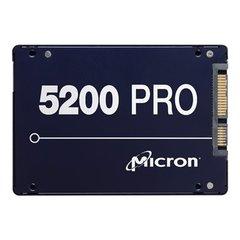 """Micron 5200 PRO 2.5"""", 3.8TB, SATA, 6Gb/s, 3D NAND,7mm, 2.5DWPD - MTFDDAK3T8TDD-1AT1ZABYY"""