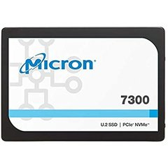 Micron 7300 MAX 1.6TB NVMe PCIe 3.0 3D TLC U.2 7mm,3DWPD - MTFDHBE1T6TDG-1AW1ZABYY