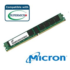 Micron Memory 8GB DDR4-2400 1RX8 ECC REG RoHS, MTA9ASF1G72PZ-2G3B1, Supermicro certified
