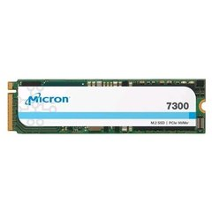 Micron7300 MAX 400GB, PCIe NVMe, M.2 22x80mm, 3D TLC, 3DWPD - MTFDHBA400TDG-1AW1ZABYY