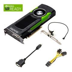 NVIDIA PNY Quadro GP100 16GB HBM2 PCIe 3.0 - Active Cooling, GPU-NVQGP100 - VCQGP100-PB