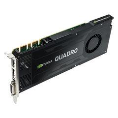 NVIDIA PNY Quadro K4200 4GB GDDR5 PCIe 2.0 - Active Cooling, GPU-NVQK4200