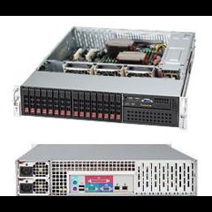 "SC213A-R720LP 2U eATX13 16SFF(4xSFF-8087),5,25"",slimCD,LP,rPS 720W (80+),čer"