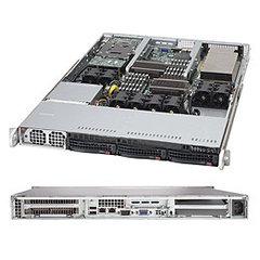 SC815TQ-R654C 1U eATX,4sATA/SAS,rPS 48V DC 650W,black