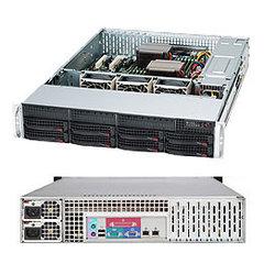 SC825TQ-R740LP 2U,eATX13, 8sATA/SAS,slimCD,LP,rPS 740W (80+ PLATINUM),black