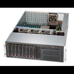 """SC835XTQ-R982 3U,11slots,8sATA/SAS,2×5,25"""",slimCD,rPS 980W (80+PLATINUM), black"""