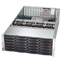 SC846XE2C-R1K23B 4U eATX13 24SAS3 (dual SAS3 exp)+2SFF,rPS 1,2kW(80+ TITANIUM)2BBP-ready, black