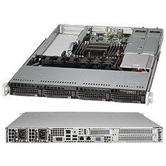 "SUPERMICRO 1U chassis 4x 3,5"" HS SAS/SATA, 2x500W (80PLUS Platinum), WIO"