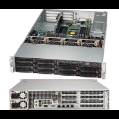 "SUPERMICRO 2U chassis 10x 3,5"" HS SAS/SATA, 2x920W (80PLUS Platinum) WIO"