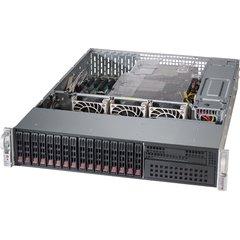 """SUPERMICRO 2U chassis 16x 2,5"""" HS SAS3/SATA (4x miniSAS HD), 2x1200W (80PLUS Titaninum)"""
