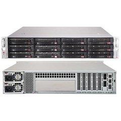 "SUPERMICRO 2U JBOD chassis 12x 3,5"" HS SAS/SATA (dual expander 4x SFF 8644 + IPMI), 2x740W (80PLUS Platinum)"